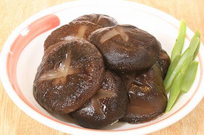 神石高原町産 天日乾燥椎茸 調理例